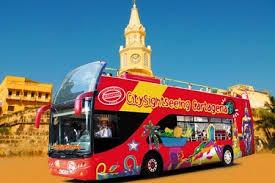 Bus City Sightseeing Carthagène