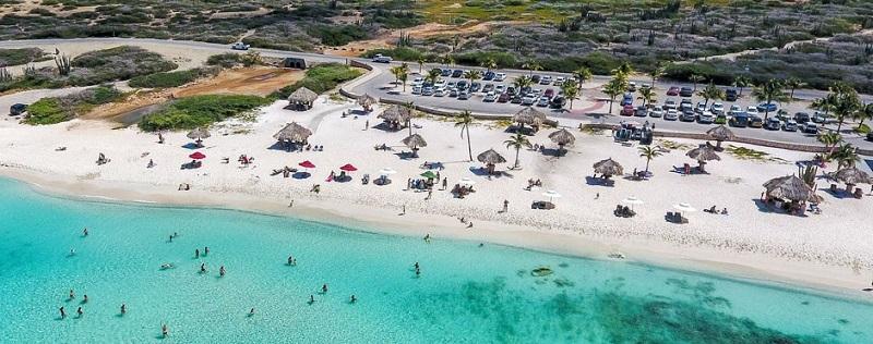 Escale à Aruba Arashi Beach