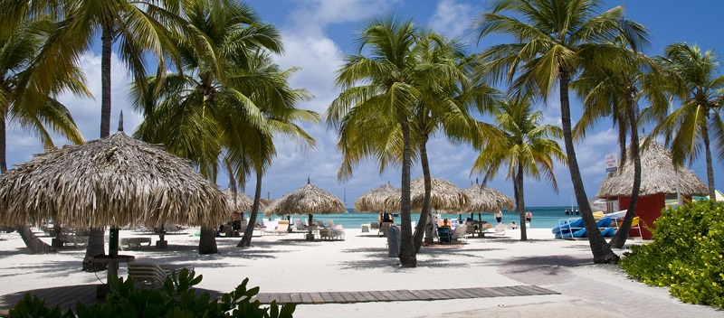 Escale à Aruba Palm Beach