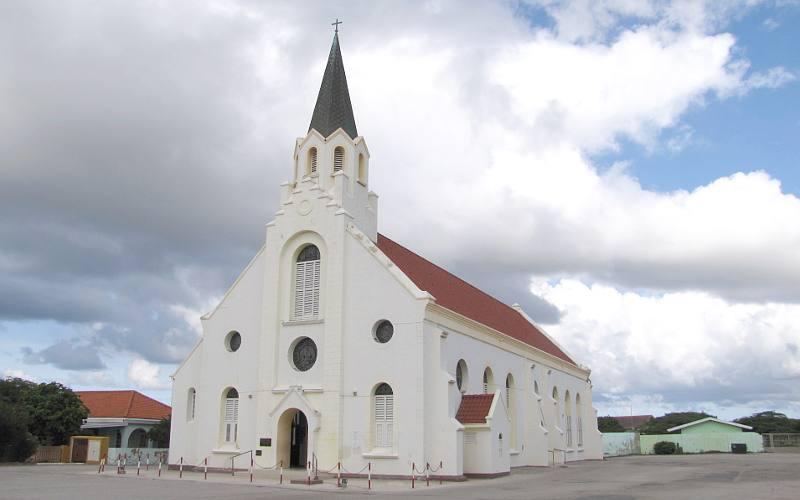 Escale à Aruba Saint Anna Church