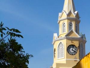 Escale Carthagène (Colombie) La tour de l'horloge
