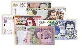Monnaie Colombienne Le Peso
