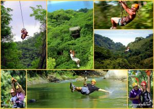 Excursion Costa Puerto Vallarta Canopy tour