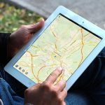 application Cartographique GPS Entièrement déconnectée avec Rotation de la carte