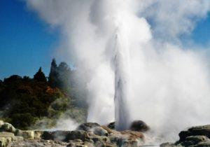 Escale Tauranga Nouvelle-zelande Geyser Pohutu