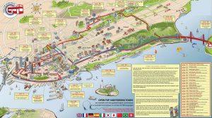 San Francisco Carte bus touristique