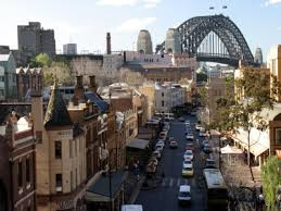 Escale Sydney quartier historique The Rocks