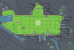 Zone de transport gratuite de Melbourne