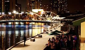Melbourne South Wharf Promenade