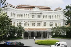 Singapour hôtel Raffles