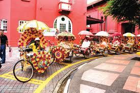 trishaw Malacca