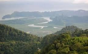 Montagne Gunung Raya Langkawi