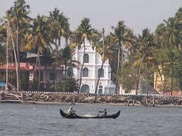 croisière dans le port de Kochi