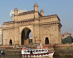 La porte de l'inde Bombay