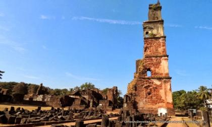 Ruins of the Church of St Augustine Goa