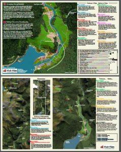 Carte des circuits Touristiques de Flam