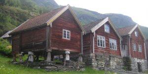 Les vieilles ferme de Otternes Bygdetun Flâm