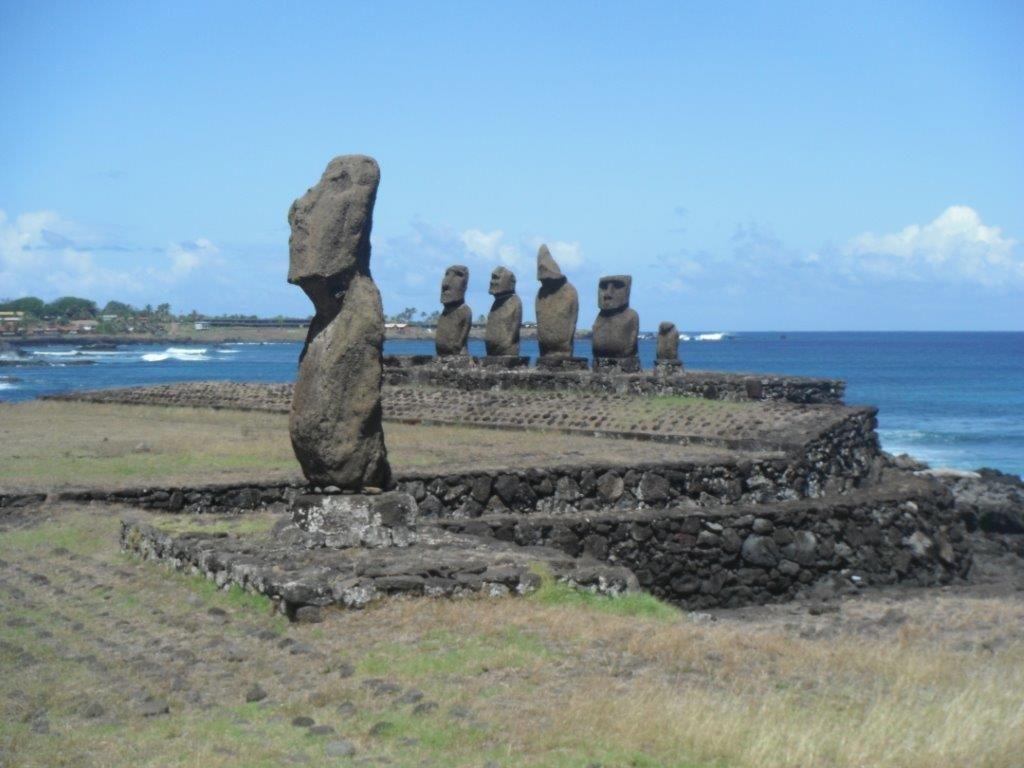 Escale à l'Île de Pâques: Tahai