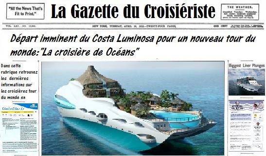La Gazette du Croisiériste