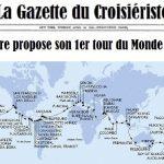 la Gazette du Croisièriste: Msc Croisiere Lance son 1er tour du monde pour 2019