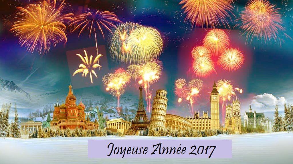 Hervé et Isabelle vous souhaitent une excellente année 2017 pleine de croisières autour du monde
