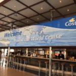 Croisière Tour du Monde Australe 2017 Grand Bar Costa Luminosa