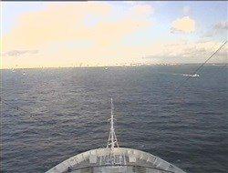 WebCam avant du Costa Luminosa à 10H47