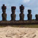 Croisière tour du monde Austral 2017 Le Costa Luminosa fait escale à l'île de Pâques (Chili)