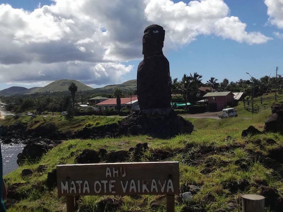 Croisière tour du monde Austral 2017 Balade au milieu des Moaï sur de l'île de Pâques 5