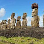Croisière tour du monde Austral 2017 Balade au milieu des Moaï sur de l'île de Pâques 7