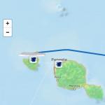 Croisière tour du monde Austral 2017 Jacques Charles compte rendu d'escale à Moorea (Tahiti)