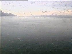 Croisière tour du monde Austral 2017 Webcam arrière CostaLuminosa Ushuaïa Terre de Feu