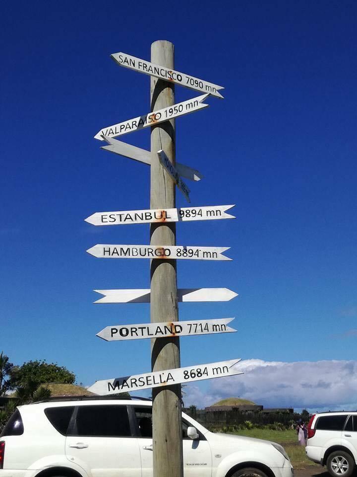 Croisière tour du monde Austral 2017 l'île de Pâques une île au bout du monde