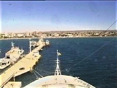 Webcam du Costa Luminosa au quai de Puerto Madryn en Argentine