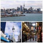 Claudine et Jean-Luc 59 ème jour de la croisière tour du monde Australe 2017 du Costa Luminosa, escale à Auckland en Nouvelle-Zélande
