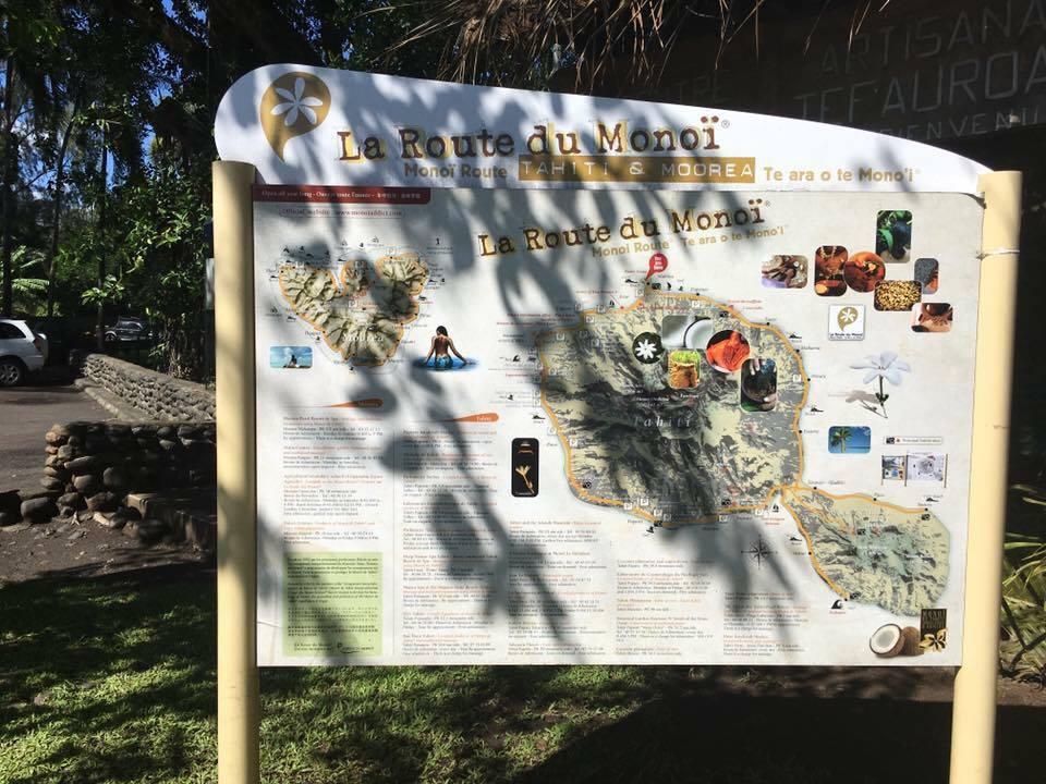 Croisière tour du monde Australe 2017 Anna la route du Monoï Papeete à Tahiti