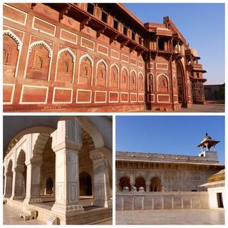 80ème jour de Tour du monde pour Claudine et Jean Luc avec le Costa Luminosa, en visite à Cochin - Dehli - Agra en Inde