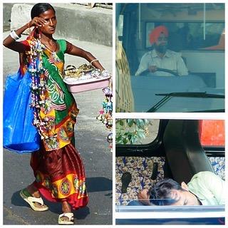 83ème jour de Tour du monde et Fin d'escale en Inde pour Claudine et Jean Luc entre Delhi et Bombay