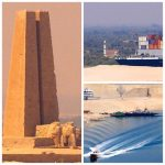 Croisière tour du monde Australe 2017 Claudine et Jean Luc passe le Canal de Suez