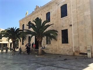 Croisière tour du monde Australe 2017 Jacques Charles et le Costa Luminosa en escale à Héraklion en Crète
