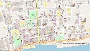 Carte Hamilton aux Bermudes
