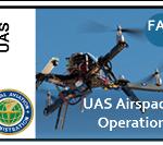 Carte des zones drones espace aérien controlé USA
