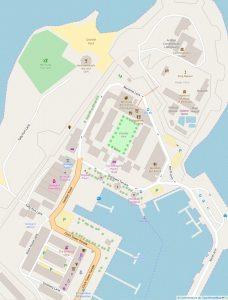 Carte du Royal Naval Dockyard