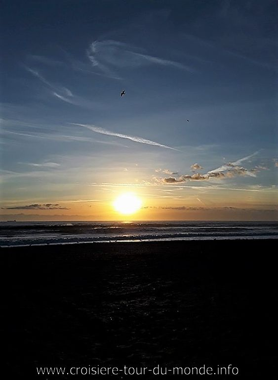 Lever du soleil à Cap Canaveral 2