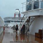 Pluie d'illuvienne sur le Queen Victoria