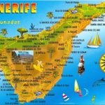 Carte Santa Cruz de Tenerife aux Îles Canaries