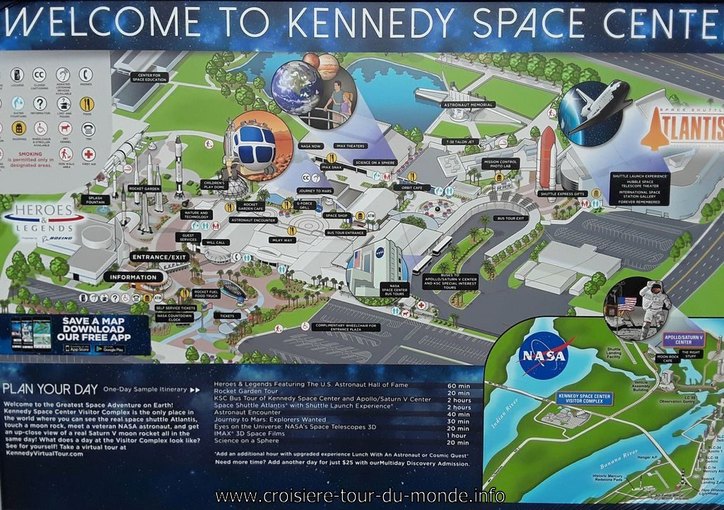 Visite du Kennedy Space center