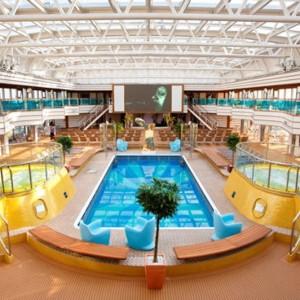 Galerie photo costa luminosa croisiere tour du - Costa luminosa piscine ...