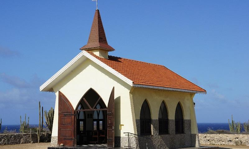 Escale à Aruba Alto Vista Chapel