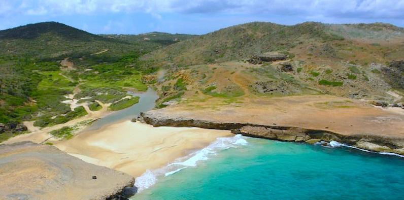 Escale à Aruba Andicuri Beach